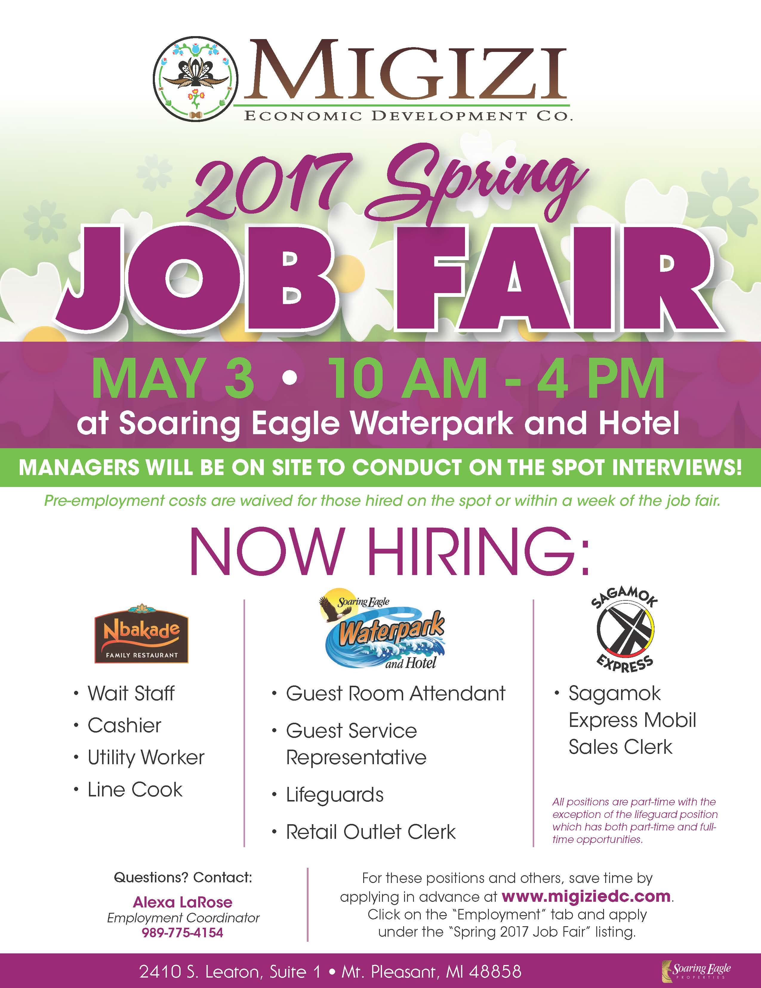 2017 spring job fair
