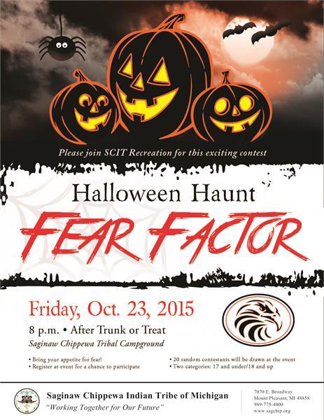 Fear factor casino