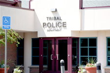 Tribal Police Department main entrance